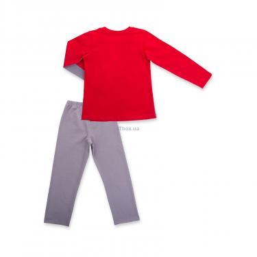 """Пижама Matilda """"8"""" (7486-134B-red) - фото 4"""