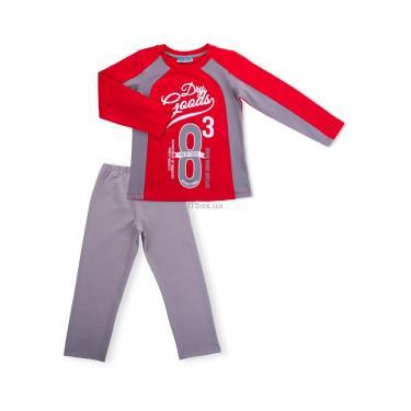 """Пижама Matilda """"8"""" (7486-134B-red) - фото 1"""