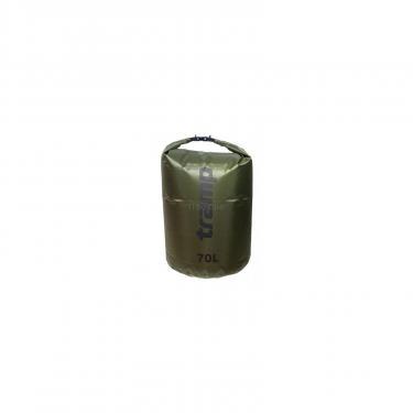 Гермомешок Tramp PVC Diamond Rip-Stop оливковый 70л (TRA-209-olive) - фото 1