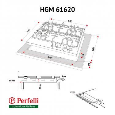 Варочная поверхность PERFELLI HGM 61620 BL - фото 10