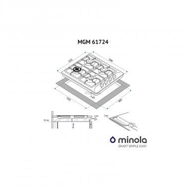 Варочная поверхность Minola MGM 61724 I Фото 6
