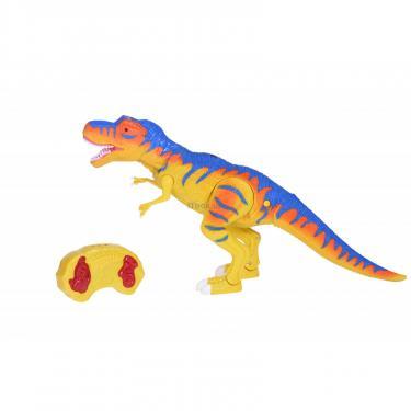 Интерактивная игрушка Same Toy Динозавр Dino World желтый со светом и звуком зеле Фото 10