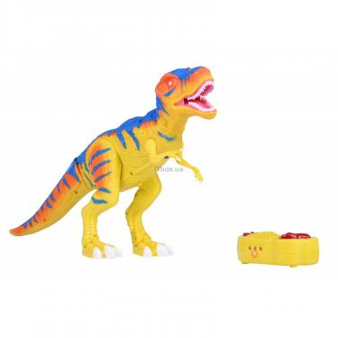 Интерактивная игрушка Same Toy Динозавр Dino World желтый со светом и звуком зеле Фото 1