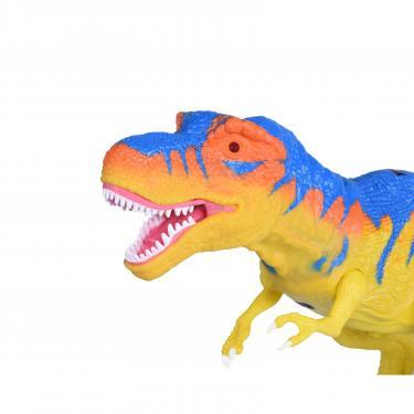 Интерактивная игрушка Same Toy Динозавр Dino World желтый со светом и звуком зеле Фото 2