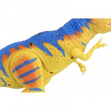 Интерактивная игрушка Same Toy Динозавр Dino World желтый со светом и звуком зеле Фото 7