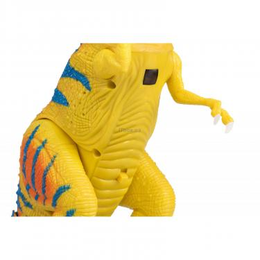 Интерактивная игрушка Same Toy Динозавр Dino World желтый со светом и звуком зеле Фото 8