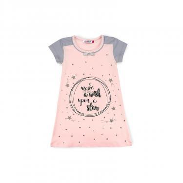 Пижама Matilda сорочка із зірочками (7992-3-128G-pink) - фото 1