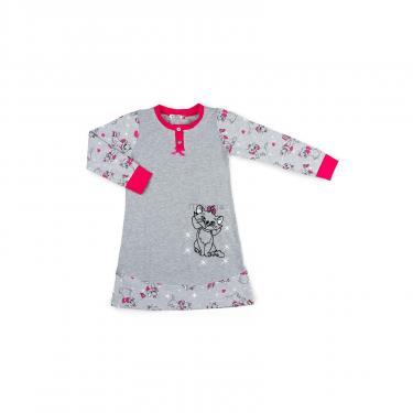 Пижама Matilda с котом (7364-116G-gray) - фото 1
