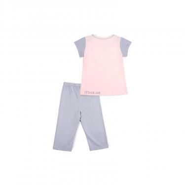 Пижама Matilda со звездочками (7991-122G-pink) - фото 4