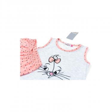 Пижама Matilda с котиком (9421-116G-gray) - фото 3