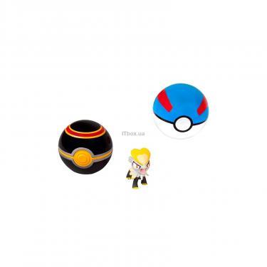 Игровой набор Pokémon Пояс з 2 покеболами и фигуркой Джангмо-О Фото 1