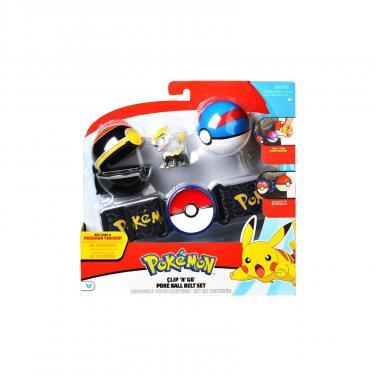Игровой набор Pokémon Пояс з 2 покеболами и фигуркой Джангмо-О Фото
