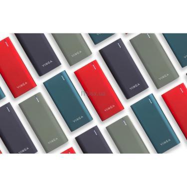 Батарея універсальна Vinga 10000 mAh soft touch red (BTPB3810QCROR) - фото 9