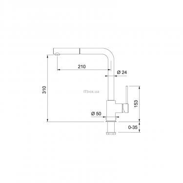 Кухонний змішувач Franke Sirius (115.0476.830) - фото 2