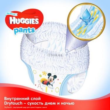 Подгузник Huggies Pants 4 для мальчиков (9-14 кг) 104 шт (52x2) (5029054216439) - фото 3
