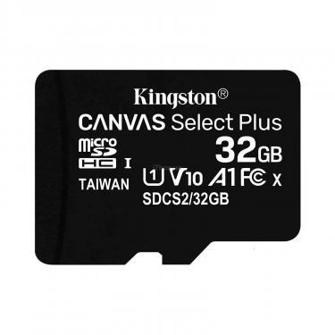 Карта памяти Kingston 32GB microSDHC class 10 UHS-I A1 (R-100MB/s) Canvas (SDCS2/32GBSP) - фото 2