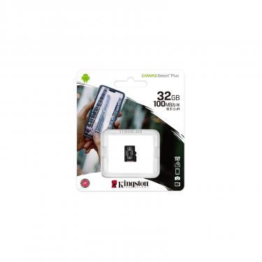 Карта памяти Kingston 32GB microSDHC class 10 UHS-I A1 (R-100MB/s) Canvas (SDCS2/32GBSP) - фото 3