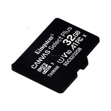 Карта памяти Kingston 32GB microSDHC class 10 UHS-I A1 (R-100MB/s) Canvas (SDCS2/32GBSP) - фото 1