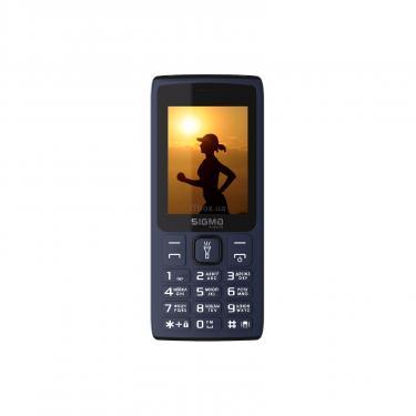 Мобільний телефон Sigma X-style 34 NRG Blue (4827798121726) - фото 1