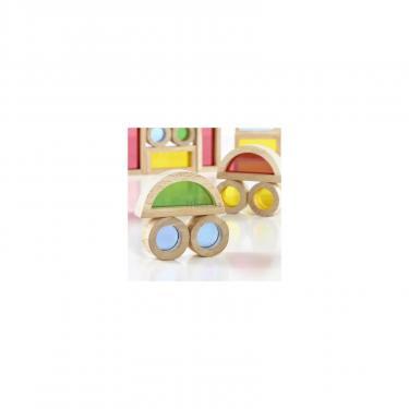 Игровой набор Guidecraft уменьшенных блоков Block Play Маленькая радуга, 40 Фото 2