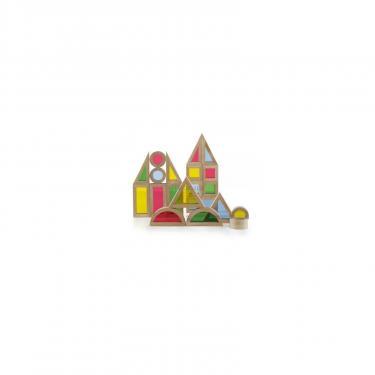 Игровой набор Guidecraft уменьшенных блоков Block Play Маленькая радуга, 40 Фото 3