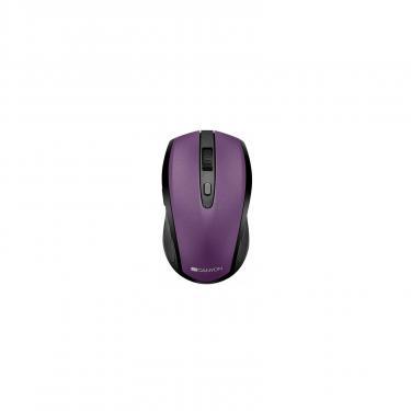 Мышка Canyon CNS-CMSW08V Wireless Black/Purple Фото 1