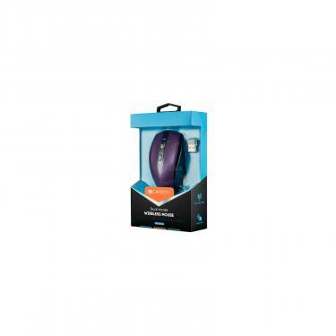 Мышка Canyon CNS-CMSW08V Wireless Black/Purple Фото 3