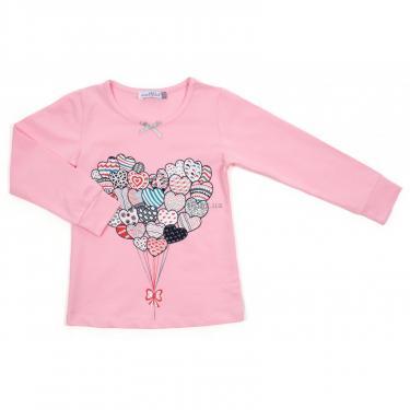 Пижама Matilda с сердечками (12101-2-116G-pink) - фото 2