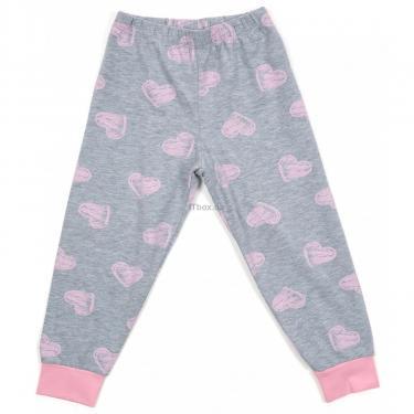 Пижама Matilda с сердечками (12101-2-116G-pink) - фото 3