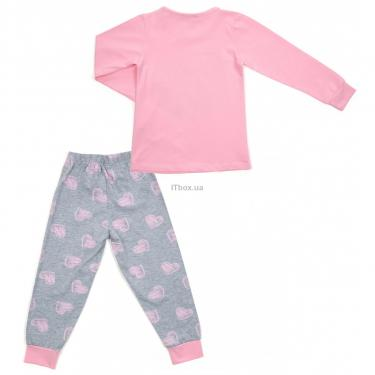 Пижама Matilda с сердечками (12101-2-116G-pink) - фото 4