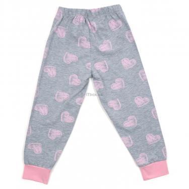Пижама Matilda с сердечками (12101-2-116G-pink) - фото 6