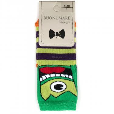 Шкарпетки BNM з монстриками (M0C0101-2063-5B-green) - фото 1