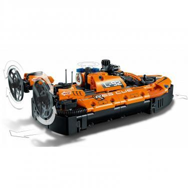 Конструктор LEGO Technic Спасательный аппарат на воздушной подушке Фото 4