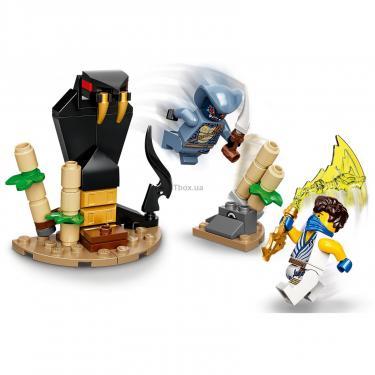 Конструктор LEGO Ninjago Грандиозная битва Джей против воина-серпен Фото 2
