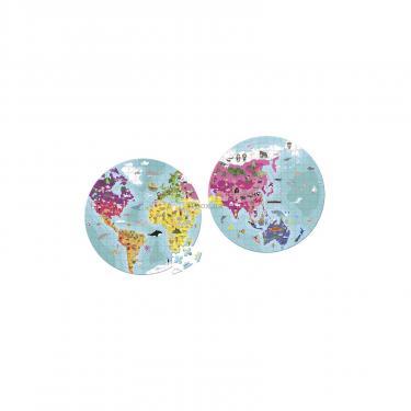Пазл Janod двусторонний Наша планета 280 элементов Фото 1