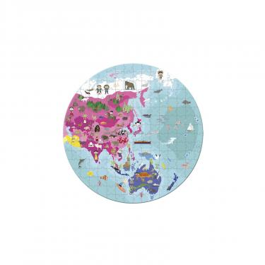 Пазл Janod двусторонний Наша планета 280 элементов Фото 2
