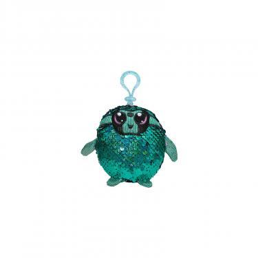 Мягкая игрушка Shimmeez с пайетками S2 Талантливый Ленивец на клипсе 9 см Фото