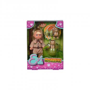 Кукла Simba Эви с обезьянками Фото 2
