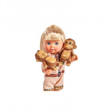 Кукла Simba Эви с обезьянками Фото