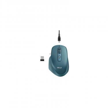 Мышка Trust Ozaa Rechargeable Wireless Blue Фото 6