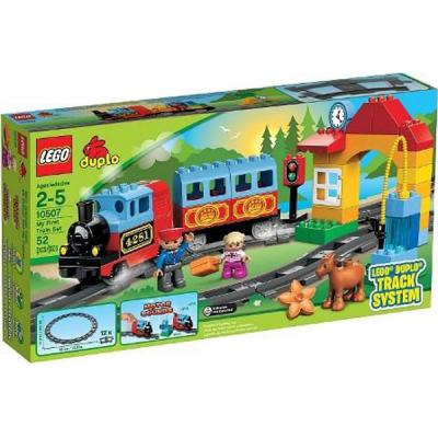 Конструктор LEGO Набор Мой первый поезд (10507)
