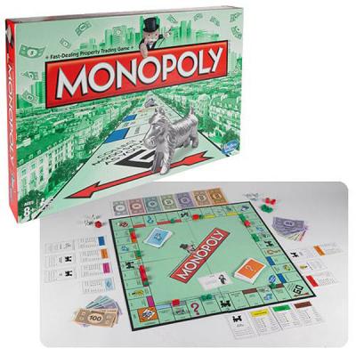 Настольная игра Hasbro Монополия (00009E88)