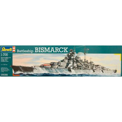 Сборная модель Revell Линейный корабль Battleship Bismarck 1:700 (5098)