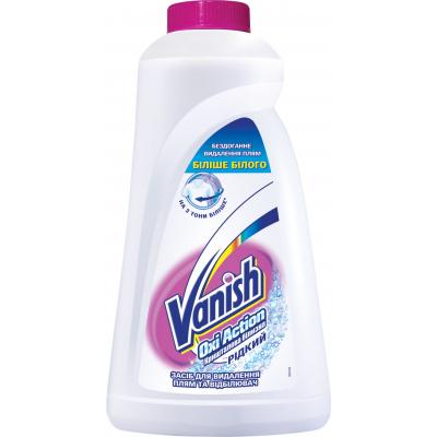 Средство для удаления пятен Vanish Oxi Action White 1 л (5900627027136)