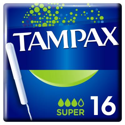 Тампоны Tampax Super Duo с апликатором 16 шт (4015400075097)