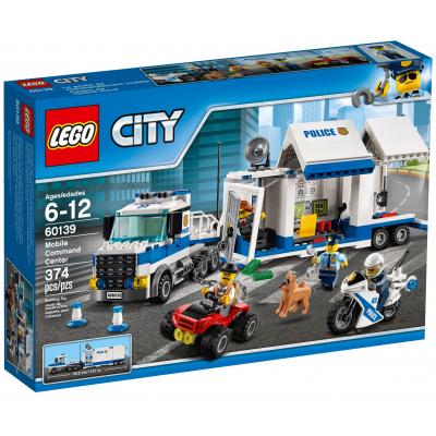 Конструктор LEGO City Мобильный командный центр (60139)