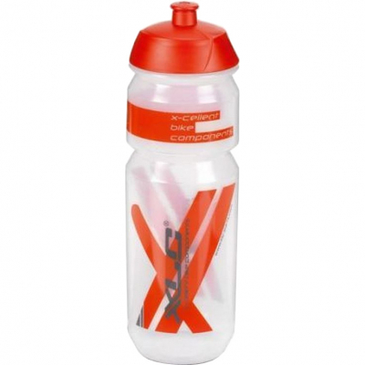 Фляга велосипедная XLC WB-K03, 750 мл, прозрачно-красная (2503231500)