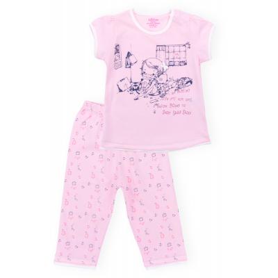 aziz с девочкой и котиками 9136-1G-pink