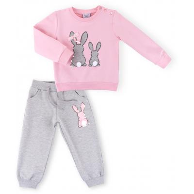 Набор детской одежды Breeze с карманчиком (9604-104G-pink)